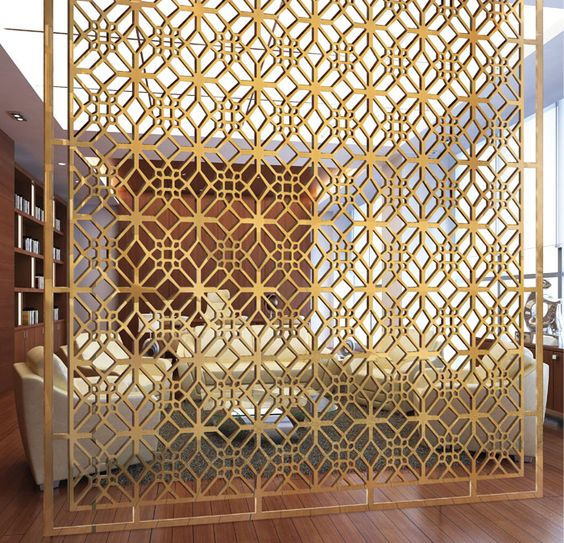 Laser Cut Screens Wood